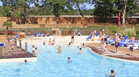 camping piscine chauffée dans le gers