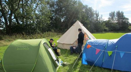 Des vacances en camping en fin septembre